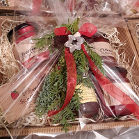 Geschenkkorb Erdbeer