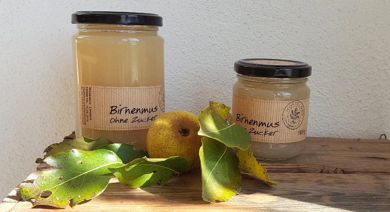 Birnenmus