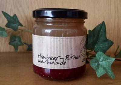 Himbeer-Birnenmarmelade